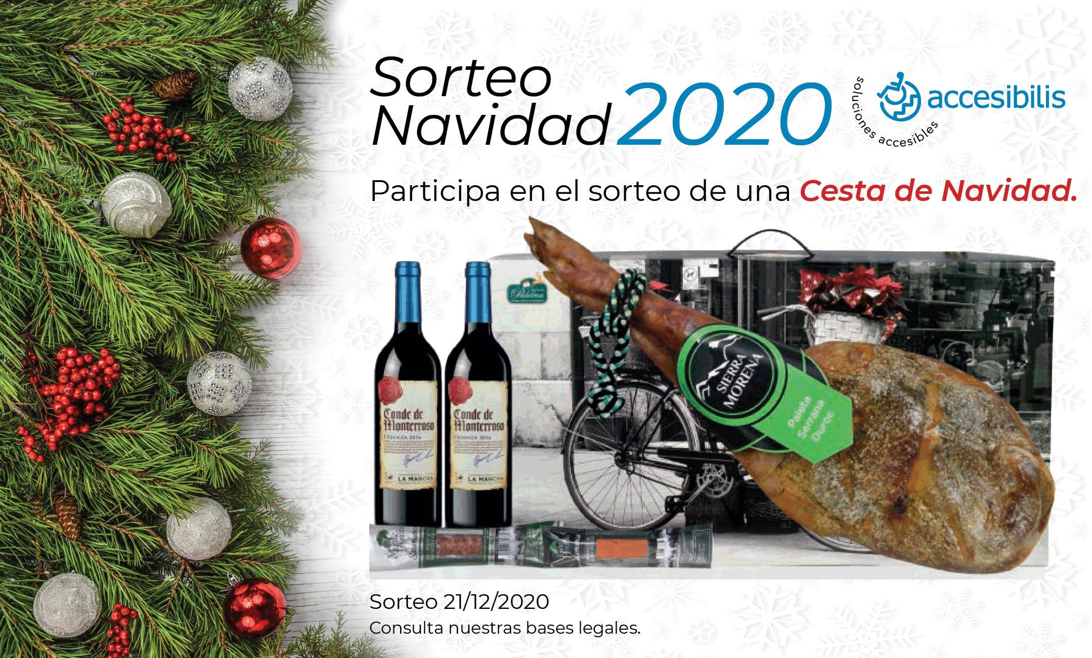 Sorteo Navidad 2020 Accesibilis