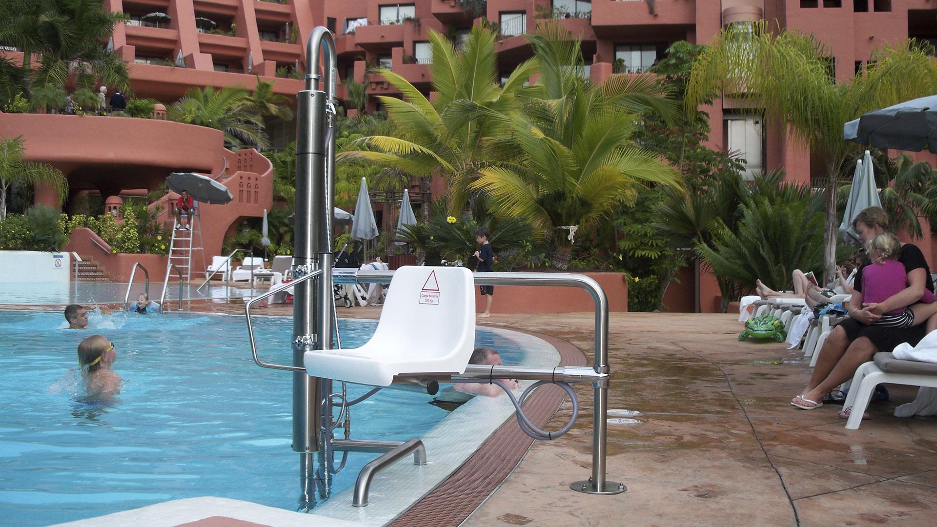 Accesibilidad para piscinas